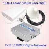 répéteur de 2W 1800MHz, servocommande de télécommunication de signal de servocommande de signal de téléphone cellulaire de la servocommande 4G de signal de cellules de GM/M