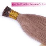 Extensões naturais indianas do cabelo humano de Remy eu derrubo o cabelo da fusão da queratina