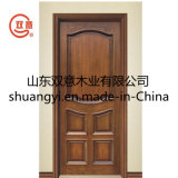 Portello classico di legno solido con l'alta qualità
