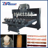 CE Approved Buddha, router Machine do CNC de Stairs Cylinder Carving para Sale