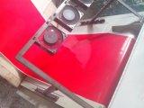 Лист силикона черного цвета противостатический, пояс силикона с огнезащитным (3A1001)