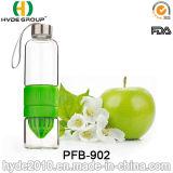 горячая бутылка воды Juicer лимона 700ml, популярная стеклянная бутылка вливания плодоовощ (PFB-902)