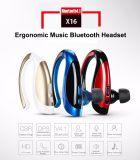L'écouteur sans fil de Bluetooth de sport d'écouteur d'affaires remet l'écouteur libre