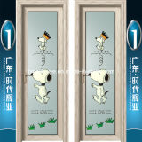 Portelli scorrevoli di alluminio di qualità domestica eccellente della decorazione di marca della Cina Top10
