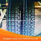 Neumático profundo 3.00-18 de la motocicleta del modelo para el mercado de Nigeria