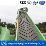 Open V Chevron Pattern Rubber Conveyor Belt