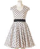 Kleine Menge-Kleid-Großverkauf der nach Maß Weinlese-Jahr-Retro Art-Frauen