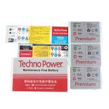 La impresión a todo color rotatoria etiqueta el papel revestido/cubrió Pet/PP auto-adhesivo para los productos electrónicos de consumo