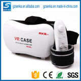 Nouveau virtual reality Vr Point de droit Rk5th de Technology 3D Glasses pour Blue Film Video Open Video