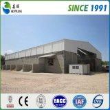 Entrepôt préfabriqué de structure métallique de haute performance