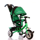 Stahlrahmen-Oxford-Tuch-Kabinendach-Baby-Spaziergänger-Dreirad scherzt Dreirad