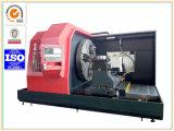 Piccolo tornio orizzontale di CNC del fronte dell'estremità con lo schermo pieno del metallo (CK61100)