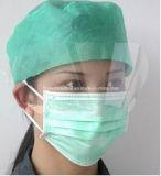 최신 판매 의학 Anti-Fog 외과 굵은 활자 챙 가면 처분할 수 있는 얼굴 방패