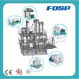 Chaîne de production de petite capacité d'alimentation de crevette d'usine de cylindre réchauffeur