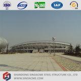 De Structuur van de Bundel van de Pijp van het staal voor de Loods van de Tribune van het Stadion