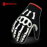 Heated Demon Leather Motorcycle Gloves с Controller (DL002)