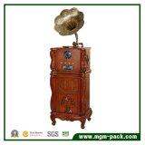 Alta calidad fonógrafo clásico de madera con CD