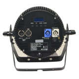 Form Alluminum sterben, das dünnes LED-NENNWERT Stadiums-Licht mit Powercon DMX RGBW Vierradantriebwagen unterbringt