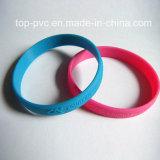 Bracelet caoutchouc 3D promotionnels en plastique de haute qualité (SB-015)