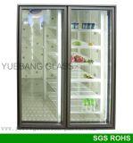 Alcance de vidro da porta do frame de alumínio no congelador