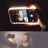 Econfine Selfie СИД освещает вверх чернь Lumee/iPhone 7 аргументы за заряжателя батареи сотового телефона (XIWXI7G)