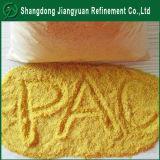 Agua potable Grado poli cloruro de aluminio / PAC 30% Poca Color Amarillo