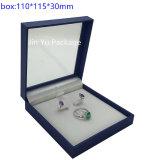 [ج-جب54] عالة ورقة جلد مجوهرات خشبيّة يعبّئ صندوق من حلقة حلق ساعة عقد [ستورج بوإكس] حالة بيع بالجملة