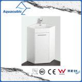 白いカラー浴室のコーナーの虚栄心のキャビネット(ACF6060)