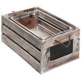 um frame de madeira com um quadro