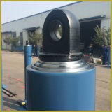 Cilindro hidráulico telescópico de efecto simple con alta calidad