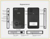 WiFi/BluetoothサポートTF Card/USBフラッシュドライバー(T9)が付いている携帯用1080P小型プロジェクター