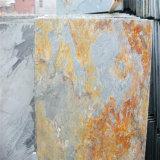 Ржавый камень плакирования стены шифера с большим ценой
