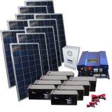 6000 watts autoguident le système d'alimentation solaire d'énergie de l'électricité au total