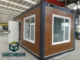 De geprefabriceerde Slaapzaal van de Arbeiders van het Kamp van de Arbeid van de Bouwwerf van het Huis van de Container