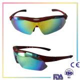 Óculos de sol ao ar livre e dando um ciclo da equitação de Eyewear da forma do esporte