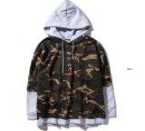 Пуловер Hoodie популярных основных людей Camo