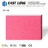 Preiswerte rosafarbene, blaue, rote, gelbe, grüne Farben-künstliche Quarz-Platten Wholesale