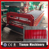 Profiel van het staal plooide het Broodje van het Blad van de Tegel van de Muur Vormt Machine die in China wordt gemaakt