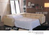 Угловойая кожаный кровать софы 574#
