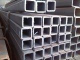 Tubo de acero pre galvanizado de la sección hueco cuadrada del material de construcción