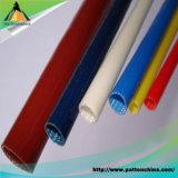 Sleeving trançado da fibra de vidro do silicone da isolação de alta temperatura do UL