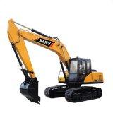 Sany Sy220 22 toneladas de máquinas escavadoras rodadas pequenas da potência para a venda
