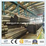 Enhebrar REG tubos al carbono soldados de tubos de acero