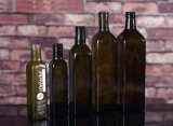 bottiglie quadrate dell'olio di oliva 1L