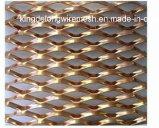 Hoja de metal ampliada del acero galvanizado/con poco carbono