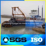 Fluss-Sand-Bergbau-Bagger-Boot