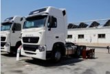 Sinotruk HOWO-T7h 4X2 Zz4187n3517n1bのトラクターのトラック