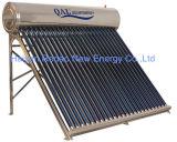 Calefator de água solar não pressurizado da câmara de ar de vácuo