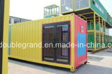 移動式/Modularのプレハブの鉄骨構造の容器の家