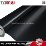 Tela incatramata rivestita del PVC del nero di prezzi di fabbrica